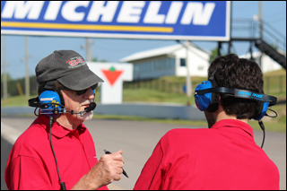 The Christiansen Racing Pit Team